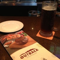 Photo taken at Outback Steakhouse by Aurora R. on 7/7/2013
