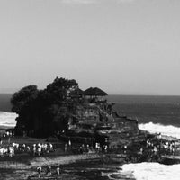 Photo taken at Tanah Lot Beach by Paul T. on 7/25/2013