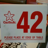Photo taken at Carl's Jr. by Eric O. on 3/16/2013