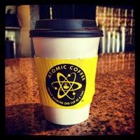 Photo taken at Atomic Coffee by Mark M. on 1/2/2013