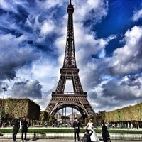 Photo taken at Eiffel Tower by Olivier C. on 10/28/2013