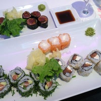 Photo taken at Planet Sushi by Richard Y. on 2/4/2013
