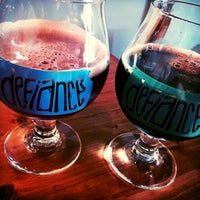 Photo taken at Defiance Brewing Co. by Eric C. on 8/1/2015