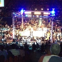 Photo taken at Coliseo Ruben Rodriguez by Eduardo O. on 10/7/2012
