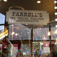 Photo taken at Farrell's Ice Cream Parlour by Julie S. on 12/8/2012