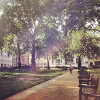 Photo taken at Berkeley Square by Grzegorz W. on 6/29/2013