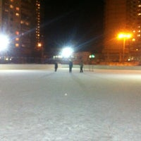 Photo taken at Хоккейная Коробка by Ivan K. on 2/21/2013