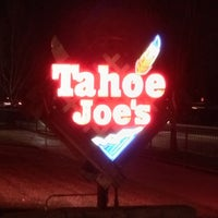 Photo taken at Tahoe Joe's by Jason K. on 3/8/2014
