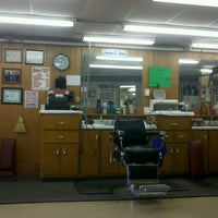 Photo taken at Beason's Barber Shop by Josh W. on 9/28/2012