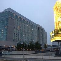 Photo taken at The Westin Boston Waterfront by Elizabeth R. on 9/29/2012