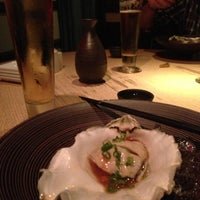 Photo taken at Sushi Azabu by Christian B. on 10/7/2012