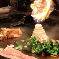 Photo taken at Kikuyama Japanese Steakhouse by Jessica H. on 12/22/2012