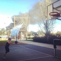Photo taken at Berry Basketball Courts by Mike C. on 3/12/2014
