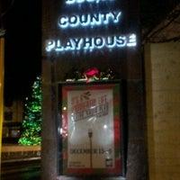 Photo taken at Bucks County Playhouse by Darci F. on 12/17/2012