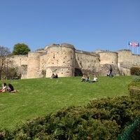 Photo taken at Château de Caen by Lidia T. on 5/3/2013