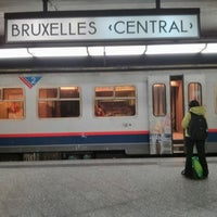 Photo taken at Brussels Central Station by Stijn V. on 9/18/2013
