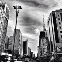 Photo taken at Paulista Avenue by Bruno G. on 6/22/2013