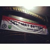 Photo taken at SMA Negeri 1 Surakarta by naswa a. on 7/5/2013