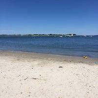 Photo taken at Pavillion Beach by Lin B. on 7/3/2015