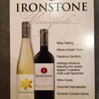 Photo taken at Ironstone Vineyards by Mary T. on 7/31/2014