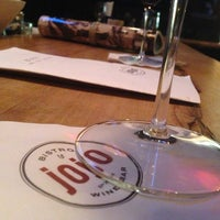 Photo taken at JoJo Bistro & Wine Bar by Matthew R. on 7/21/2013