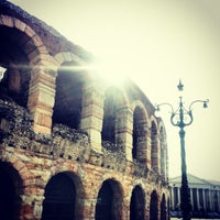 Photo taken at Arena di Verona by Νικόλαος Ν. on 3/2/2013