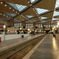 Photo taken at Estación de Zaragoza - Delicias by Lucia I. on 3/13/2013