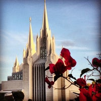 Photo taken at San Diego California Temple by Chantal S. on 12/4/2012
