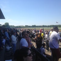Photo taken at Belmont Park Racetrack by Lorie D. on 5/27/2013