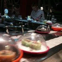 Photo taken at YO! Sushi by Kristin T. on 9/25/2012