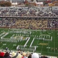 Photo taken at Bobby Dodd Stadium by La'Teecha D. on 11/23/2013
