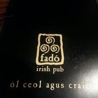 Photo taken at Fadó Irish Pub & Restaurant by Ray C. on 2/22/2013