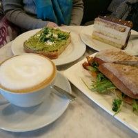 Photo taken at Trafiq Café & Bakery by Gary Q. on 11/12/2016