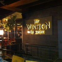 Photo taken at The Winston Brasserie by Marcel D. on 5/8/2013