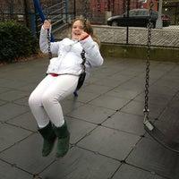 Photo taken at Van Vorhees Playground by Chris M. on 1/1/2013