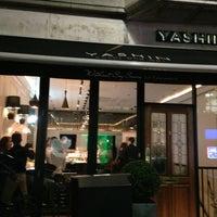 Photo taken at Yashin Sushi by Ton C. on 1/15/2013