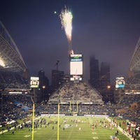 Photo taken at CenturyLink Field by Joseph S. on 12/10/2012