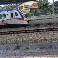 Photo taken at KTM Line - Kajang Station (KB06) by Nrhzrah on 11/11/2016