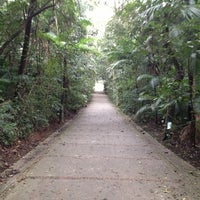 Photo taken at Parque Burle Marx by Humberto M. on 7/24/2013