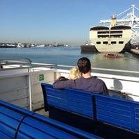 Photo taken at Oakland Ferry Terminal by Jean Y. on 10/3/2012