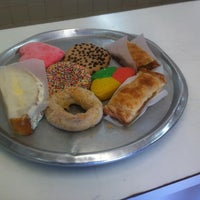 Photo taken at La Fama Bakery by Jody M. on 1/14/2013