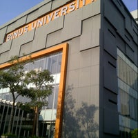 Photo taken at BINUS University by novi g. on 10/25/2012