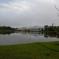 Photo taken at Pustaka Negeri Sarawak (Sarawak State Library) by Nash Y. on 12/23/2012