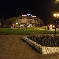 """Photo taken at Площадь перед ЛДС """"Кристалл"""" by 🌍Vasilisa🌕 P. on 5/8/2013"""
