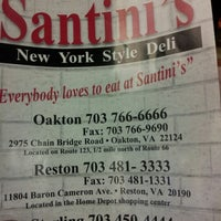 Photo taken at Santini's New York Style Deli by Misty J. on 11/7/2012