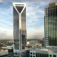 Photo taken at Hilton Charlotte Center City by Jeremy P. on 6/10/2013