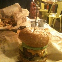 Photo taken at Bareburger by Li Rong J. on 12/29/2012