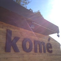 Photo taken at Komé by Weird C. on 12/10/2012