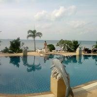 Photo taken at Haad Tian Beach Resort by Yaroslav N. on 1/6/2013