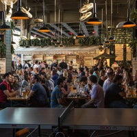 Photo taken at The Biergarten at The Standard by The Standard on 6/9/2015
